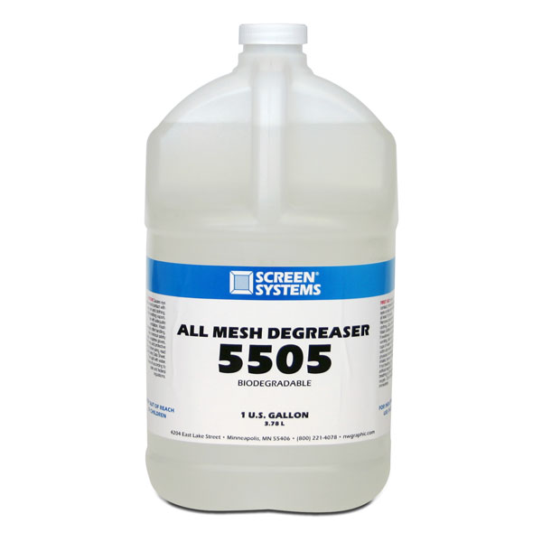 High quality mesh degreaser removes oil and residue completely.